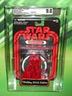 STAR WARS 2005 SW SHOP RED METALLIC HOLIDAY EDITION DARTH VADER AFA 90