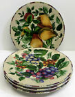 Set of 4 Oneida Sakura Sonoma Excell Salad Plates Fruit Pattern