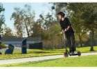 Razor Scooter Carbon Lux Large Wheels Teen Youth Kids Mobile Outdoor Toy Black