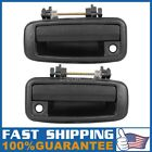 Pair For 1989 1992 GEO PRIZM Exterior Front Left Right Driver LH RH Door Handle