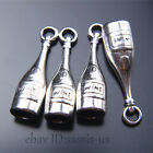 20pcs 27mm charms Tibet Silver wine bottle Pendant DIY Jewelry necklace A7523