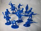 TIMPO Napoleonic Prussian Infantry Toy Soldiers (dark Blue) - 54MM -