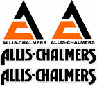 ALLIS CHALMERS Tractor vinyl decals 4 piece set