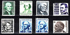 US 1278 1284 1c 6c PROMINENT AMERICANS 1965 68 MNH OG VF ID R402