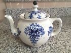 Vintage ARGYLE Teapot by Buffalo Pottery With Tea Ball Lid 1914
