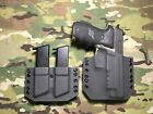 Armor Gray Kydex SIG P226R Combat Holster w Matching Mag Carrier
