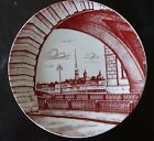LFZ IMPERIAL LOMONOSOV Russian Porcelain plate PETER and PAUL FORTRESS VINTAGE