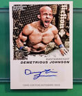 2011 Moment of Truth UFC Demetrious Johnson (Mighty Mouse) 1st AUTO RC