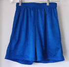 Gator Athletics Inc Pull On Perforated Shorts Blue Polyester Youth L