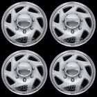 4 New E150 E250 Econoline Van 16 Full Wheel Covers Hub Caps Rim Simulators Hubs