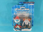 The Smurfs Papa Smurf & Hackus Figure 2 Pack Jakks Pacific 2013