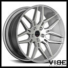 20 GIOVANNA BOGOTA SILVER CONCAVE WHEELS RIMS FITS TESLA MODEL S
