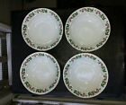 Gibson Designs Christmas Charm Soup Cereal Bowl Set of 4 Holly and Berries