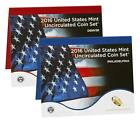 2016 US Mint Uncirculated Coin Set Both Denver And Philly Sealed 16RJ PRESALE