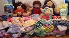Huge Lot of Cabbage Patch Kids Dolls, Outfits, Shoes, Glasses, diapers, early 90
