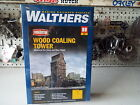 HO, Wood Coaling Tower Building Kit - Walthers Cornerstone #933-2922