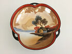 Noritake porcelain candy or nut dish, Hand Painted, made in Japan 1940's