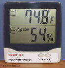 Digital Thermometer Humidity Meter Hygrometer for Greenhouse  Hydroponics H3