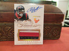 Panini Flawless Gold Autograph Jersey Texans Auto Arian Foster 01 10 2014