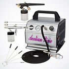 NEW Single  Dual Action Airbrush Kit Air Compressor Hobby Cake Paint Auto Model
