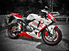 New Red White Injection Plastic Fairing Fit for Honda 2005 2006 CBR 600RR F5 m42