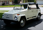 Volkswagen Thing Convertible 1973 vw thing white w black convertible top garage kept