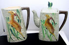 Son Leaping Gazelle Tea Coffee Pot and Milk Pitcher Set