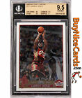 2003-04 Lebron James Topps Chrome RC Rookie #111 BGS 9.5 with 9.5 Centering