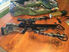 Scorpyd Orion 150 Crossbow, Leupold Scope, Gold Tip Bolts