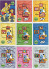 The Simpsons Anniversary Official Inkworks 81 Card Base Set