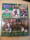 Starting Lineup 1999/2000 NFL Classic Doubles- Terrell Davis w/cards
