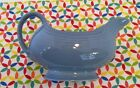 Fiestaware Retired Periwinkle Blue Gravy Boat - Fiesta HLC Light Blue Sauceboat