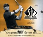 2014 SP Authentic Golf Box Factory sealed Hobby Box