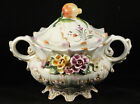 Vintage Portuguese  Soup Tureen from Portugal Stamped  6062/s Marked Collectable