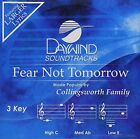NEW Fear Not Tomorrow [Accompaniment/Performance Track] (Audio CD)
