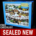 NEW Charles Wysocki - Blossom River Junction - 1000 Piece Puzzle Americana Snow