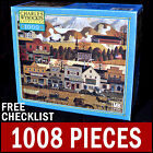 Charles Wysocki - Pete's Gambling Hall - 1000 Piece Puzzle Americana Old West