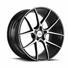 21 SAVINI BM14 MACHINED BLACK CONCAVE WHEELS RIMS FITS BMW E71 E72 X6