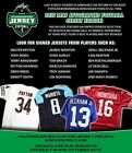 PITTSBURGH STEELERS 2015 LEAF AUTOGRAPH JERSEY 2014 LIMITED 2BOX LIVE BREAK #113