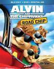 Alvin and the Chipmunks: The Road Chip (BR COMBO PACK, 2016) NEW/SEALED w/slip..