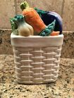 Fitz And Floyd Vegetable Basket Container