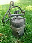 ANTIQUE MINING MINERSSAFETY CARBIDE LAMP 1930s