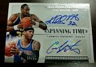 2015 National Treasures Carmelo Anthony Karl Malone DUAL Auto #4 10