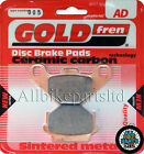Kawasaki KLR 600 Front Sintered Brake Pads 1985 Onwards - Goldfren - KLR600