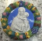 Deruta pottery:6 Inch Della Robbia,HIGH DETAILS.Made/Painted by hand-ITALY
