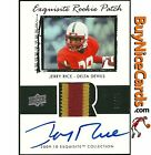 2009-10 Jerry Rice Upper Deck Flashback Exquisite 3 Color Rookie Patch Auto 25