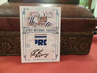 Playoff National Treasures Autograph Laundry Tag Colts Peyton Manning 1 1 2008