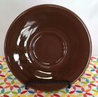 Fiesta Retired Chocolate Brown Jumbo Saucer ONLY - Fiestaware HLC Large Saucer