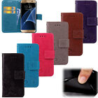 Fashion Flip Embossed Patterned PU Leather Card Pocket Book Style Cover Lot Case