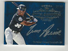 Tim Raines 2013 Topps Five 5 Star Silver Signatures Auto Card Blue White Sox 25